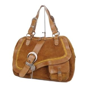 Authentic Gaucho Suede Christian Dior saddle bag